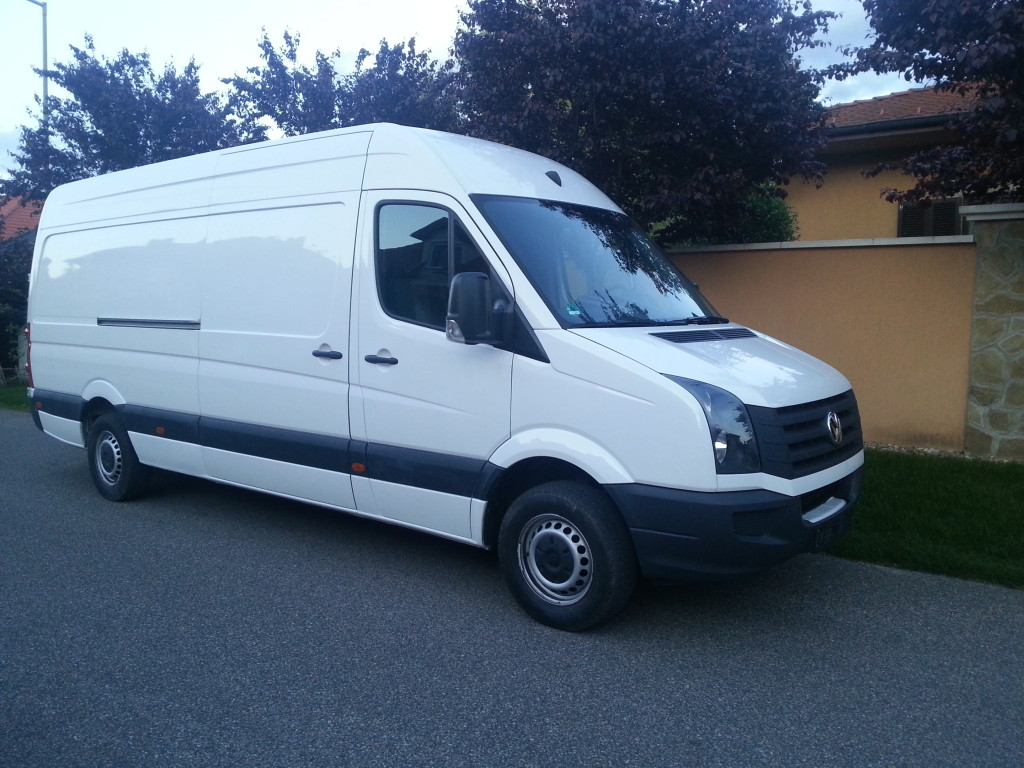 VW CRAFTER 2.0 TDI 136LE MAXI Budapest